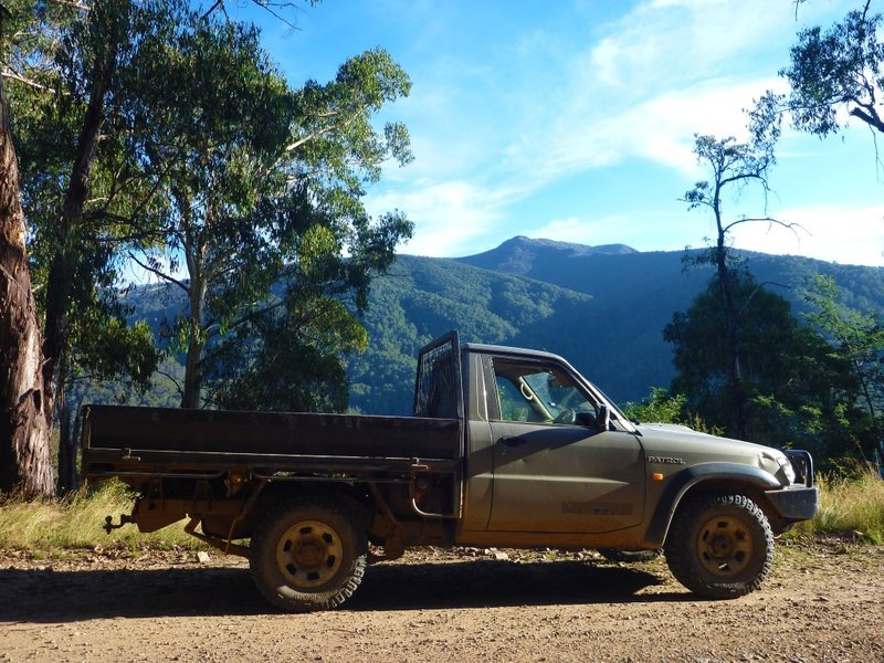 Truck Mt Buller