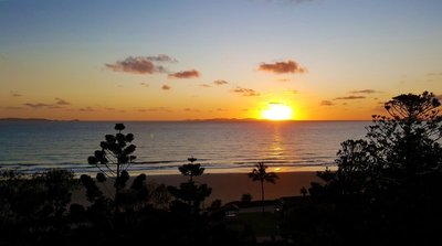 sunrise Yeppoon panoramic