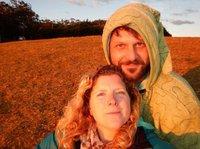 Charlotte & Mark sunset hill