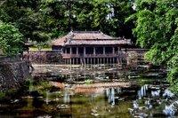 Emperor Tu Duc's Rec. house, Hue, Vietnam