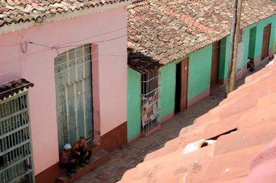 Streetview in Cuba, America