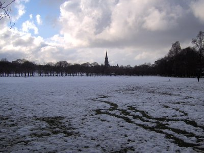 Snowy Bruntsfield