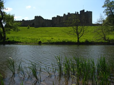 Alnwick from the river