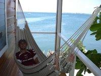 taking it easy in Utila