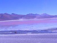 red lagoon - lagoon colorada