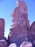 jenny and the massive rocks