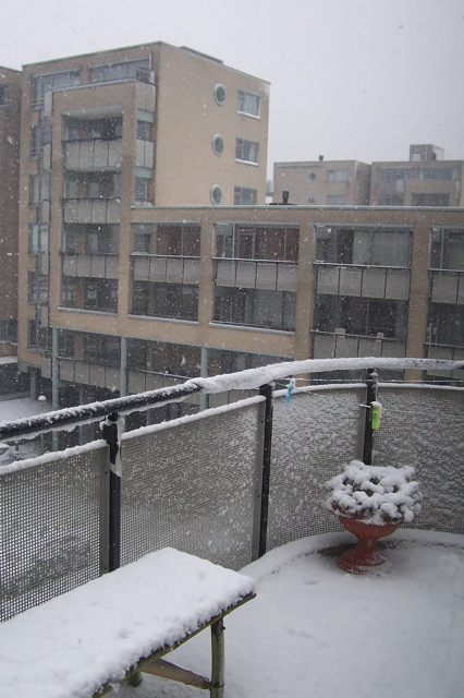 Amsterdam - My Deck in Snow
