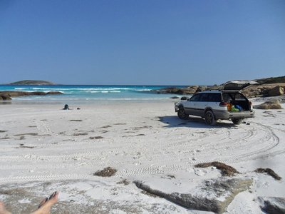 The beaches in Esperance