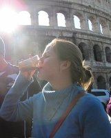 Morning at the Colloseum