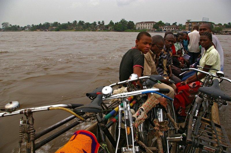 Congo river taxi