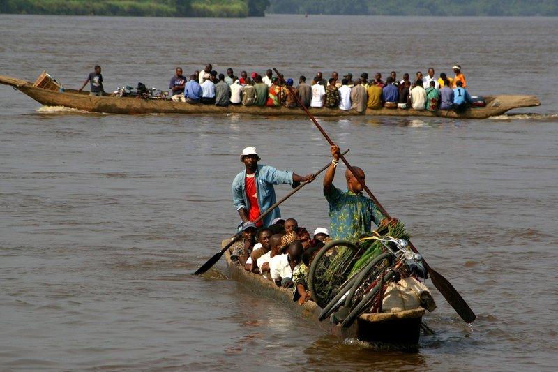 Congo river taxis
