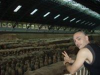 Peacefull terra cotta army