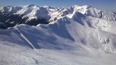 Fine day for being on the piste!