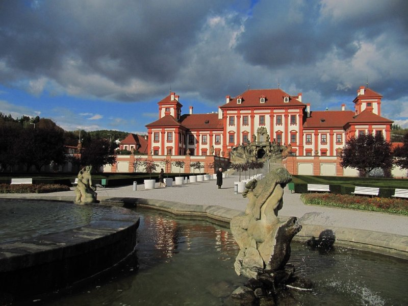 Troja Chateau, Prague