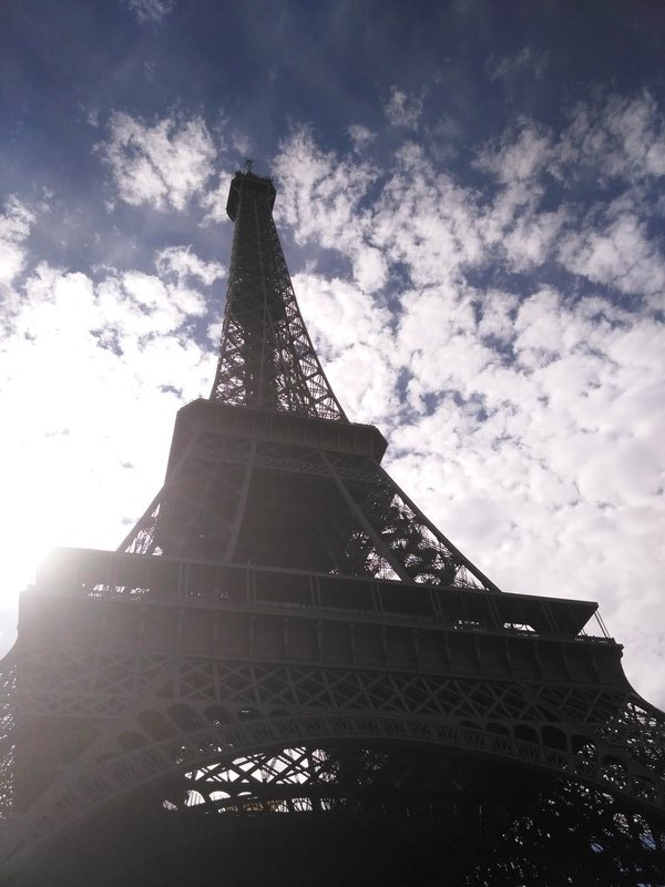 Another glimpse of The Eiffel Tower