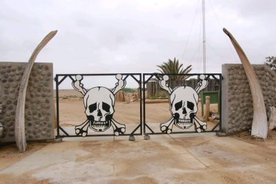 Entrance to Skeleton Coast