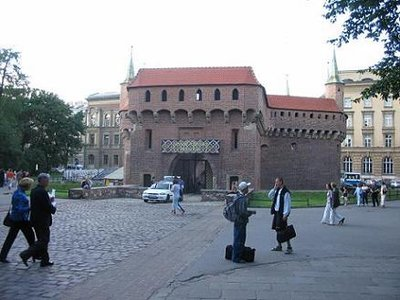 Krakow - City Gate.JPG