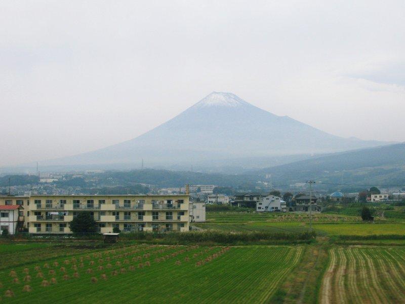 My Fuji San from Tokkaido Shinkansen