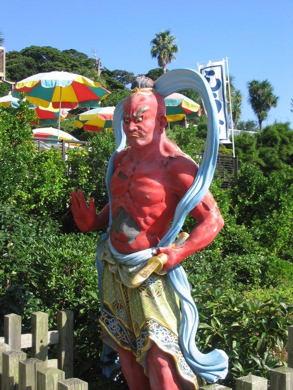 Enoshima, Shrine Guardian