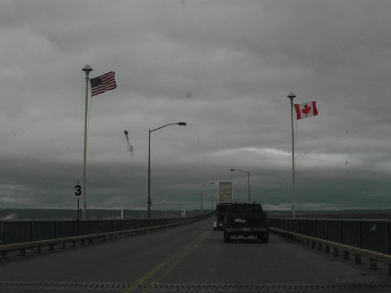 International Bridge at Sault Ste. Marie