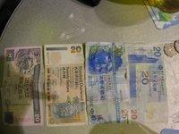 Hong Kong - Assorted 20HKD notes