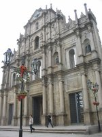 Macau - Ruins of Sao Paolo Church