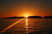 Sunset over Lake Kariba 1