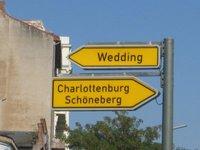 Berlin - Road sign