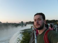 At Niagara Falls on the American side