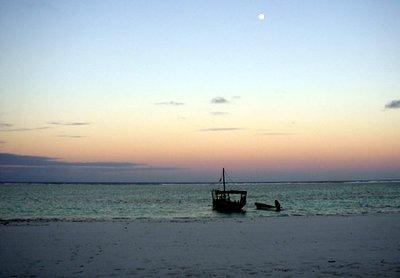 Sunset over Matemwe Beach, Zanzibar