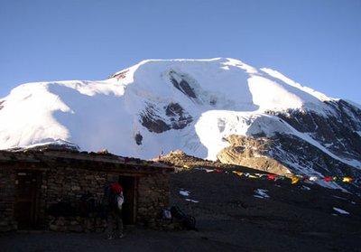 Throng La Pass -The Annapurna Circuit's highest elevationat5416 m