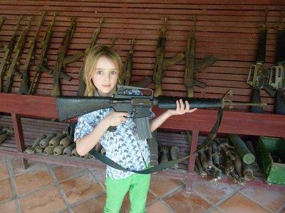 Rio with AK47