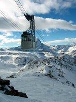 Ski Gondola, Zermatt