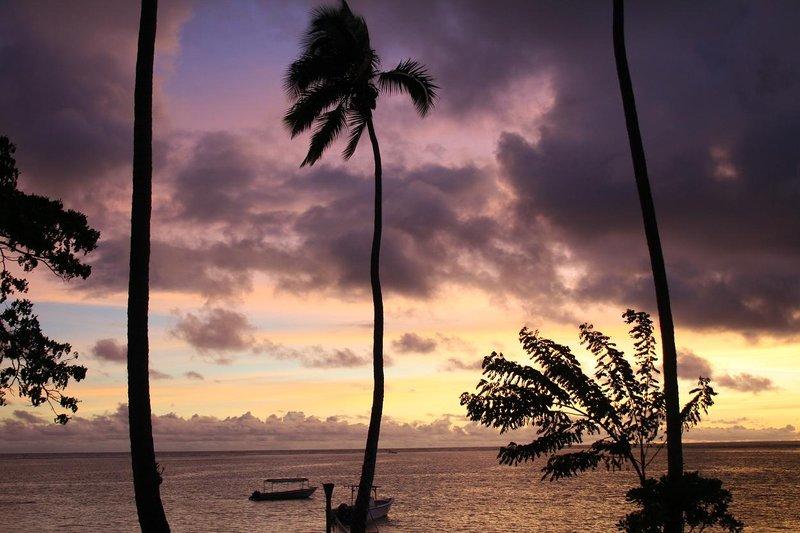Solnedgang Fiji