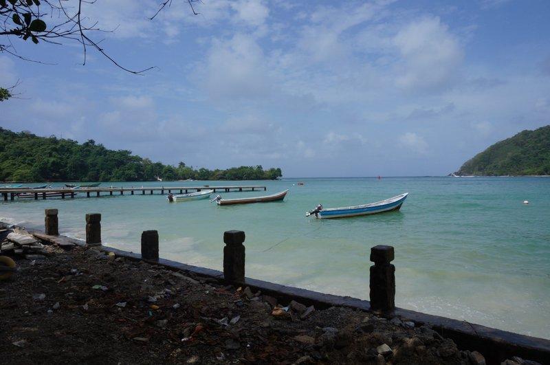 Sapzurro bay