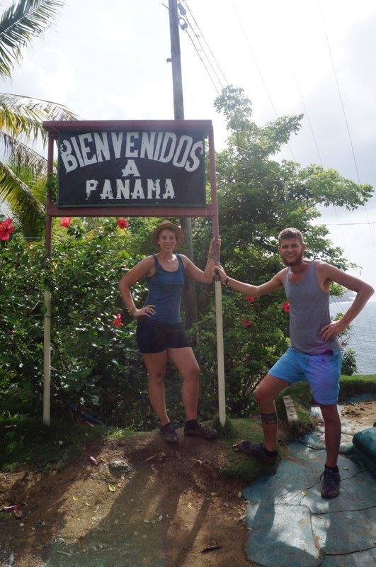 Crossing to Panama
