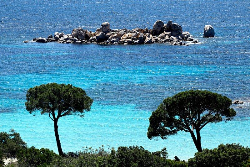 La plage de Palombaggia