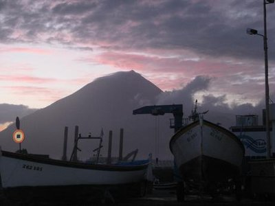 View from Lajes do Pico