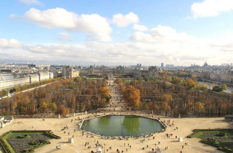 View From La Grande Roue, Jardin des Tuilieres