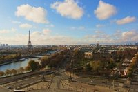 View from La Grande Roue, Eiffel Tower
