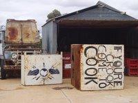 Cook, the outback, WA (train)