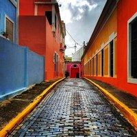 colorful streets