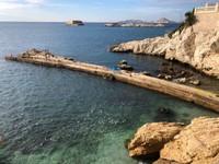 Overlooking the Mediterranean in Marseille