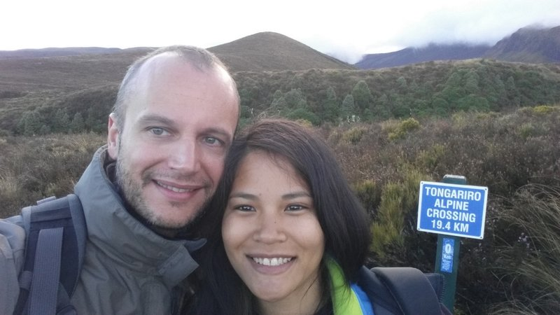 Tongariro Alpine Crossing - the start