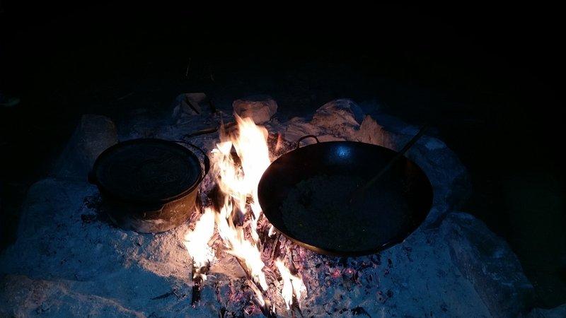 Camping à Kings Canyon