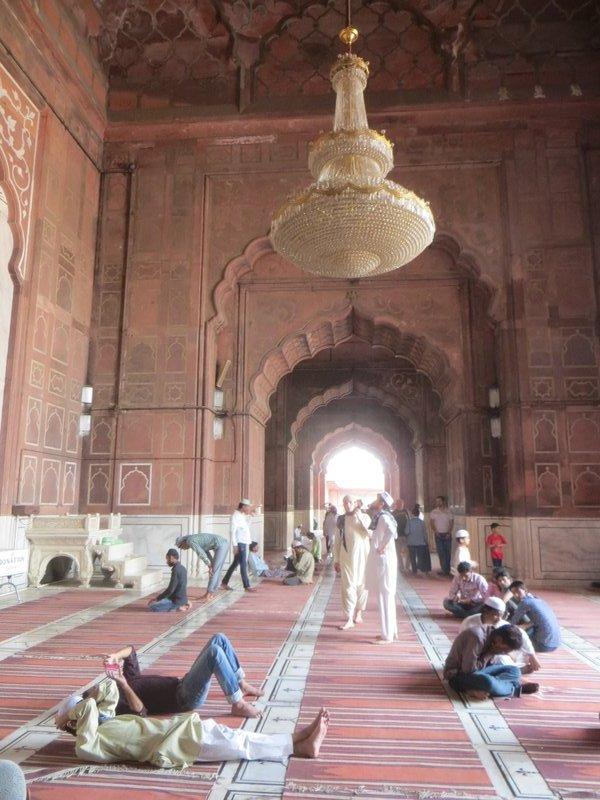 Delhi Jama Masjid Mosquée