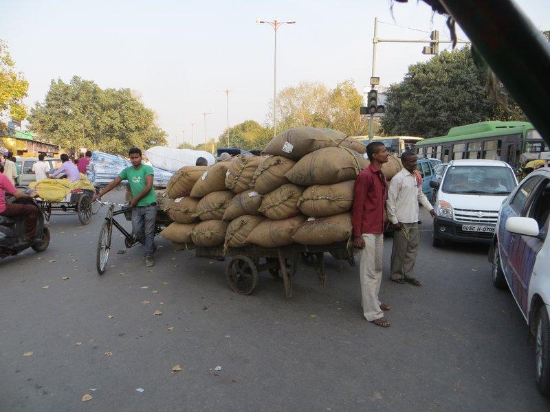 Delhi - embouteillage
