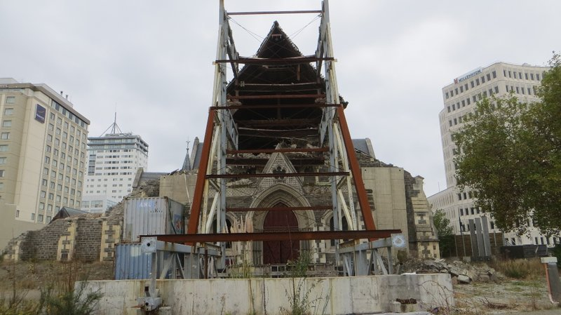 Christchurch..en reconstruction
