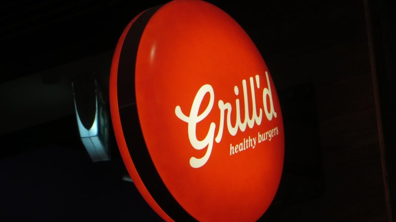 Grill'd Burgers!..healthy burgers!
