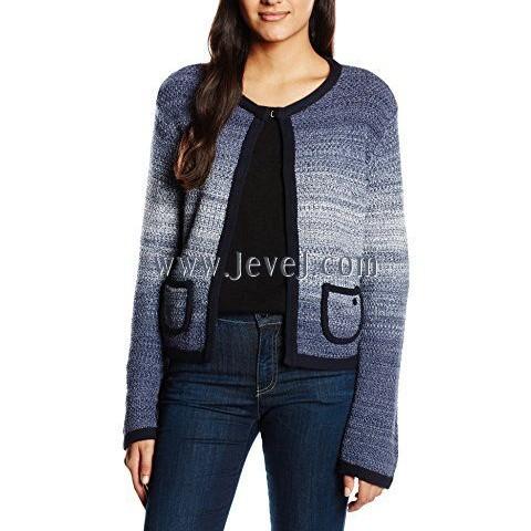 www jevej com Armani Jeans Ombre Cardigan Blue US10   UK14
